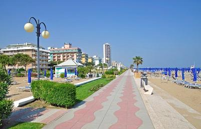 Die Promenade Jesolo